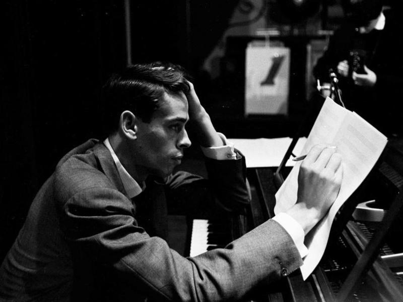 Jacques Brel Composing Music