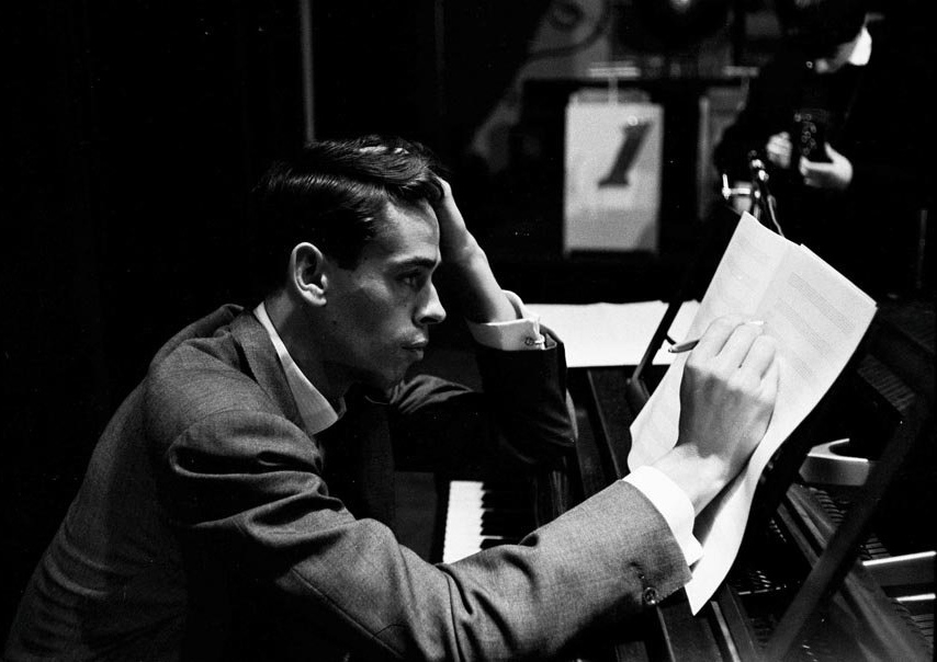 Jacques Brel Composing Music