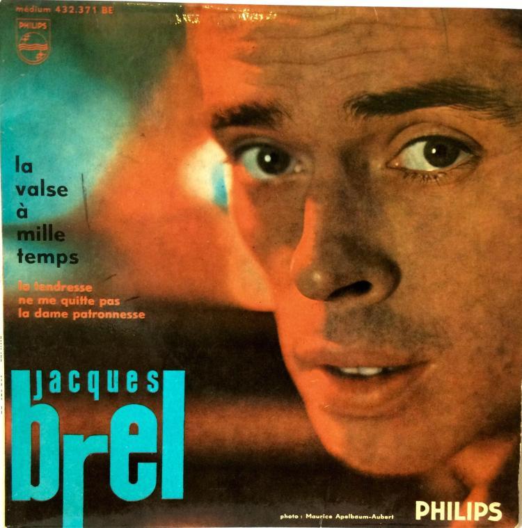 Jacques Brel Vinyl Single - La Valse A Mille Temps
