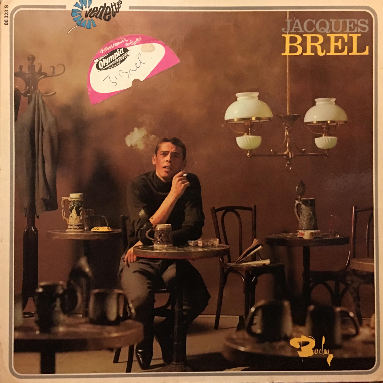 Jacques Brel, Ces Gens La, Signed Autograph 1966