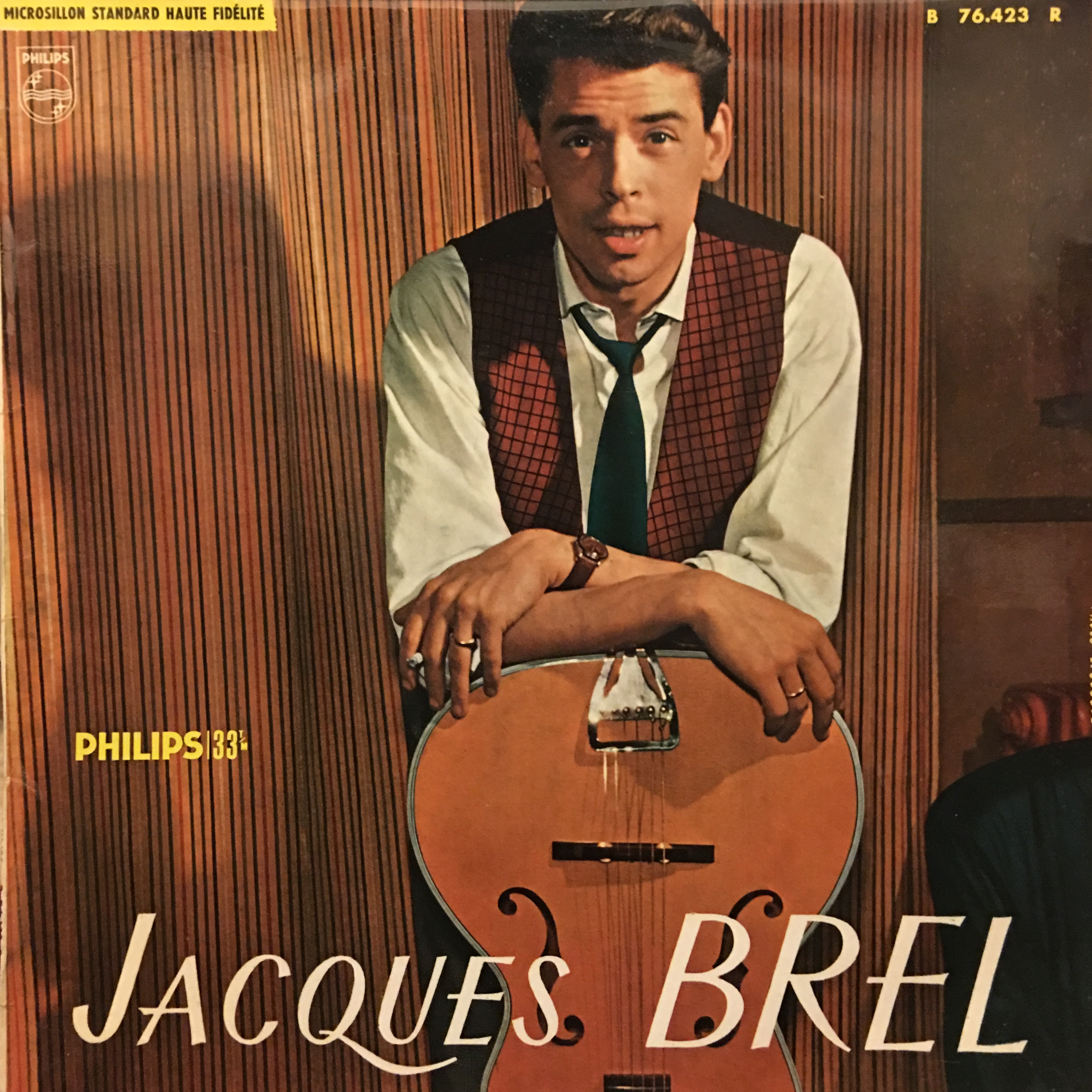 Jacques Brel Vinyl Album - No. 3 - Demain L'On Se Marie
