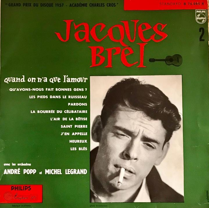 Jacques Brel, Quand On N'a Que L'Amour Album