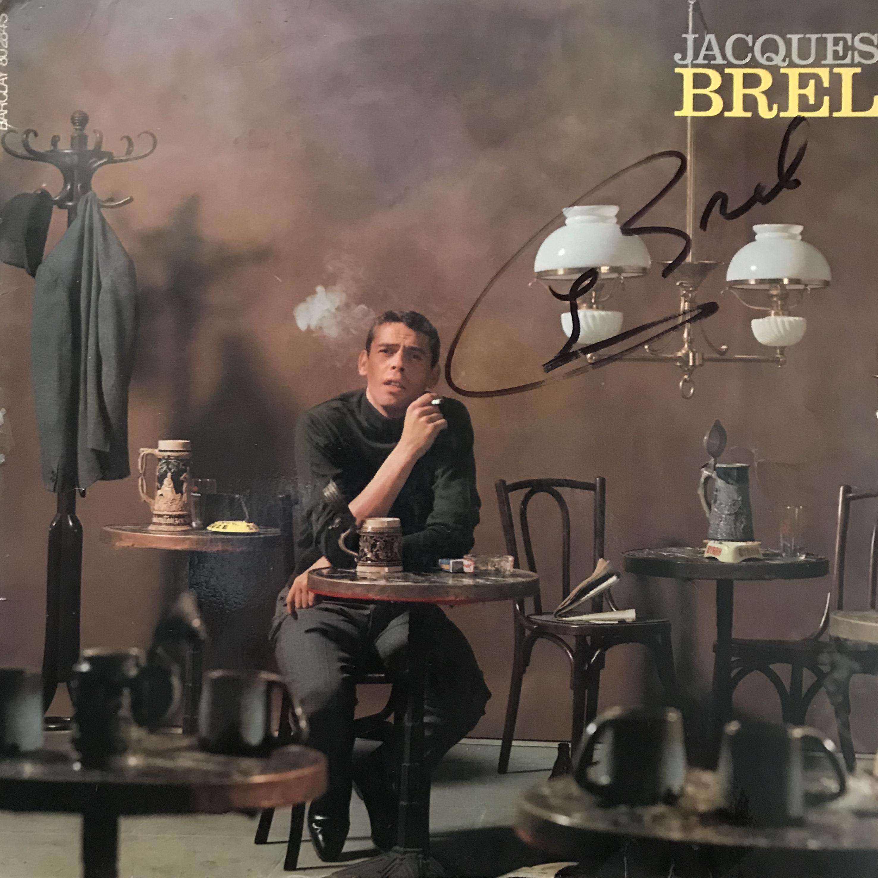 Jacques Brel, Autographed Ces Gens La