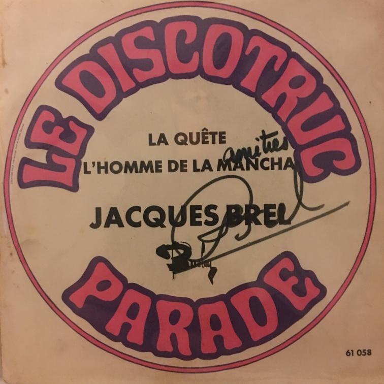 Jacques Brel Autopen