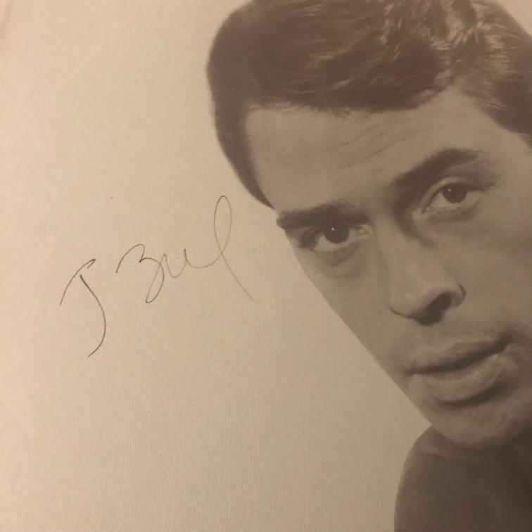 Jacques Brel Autographed Compilation
