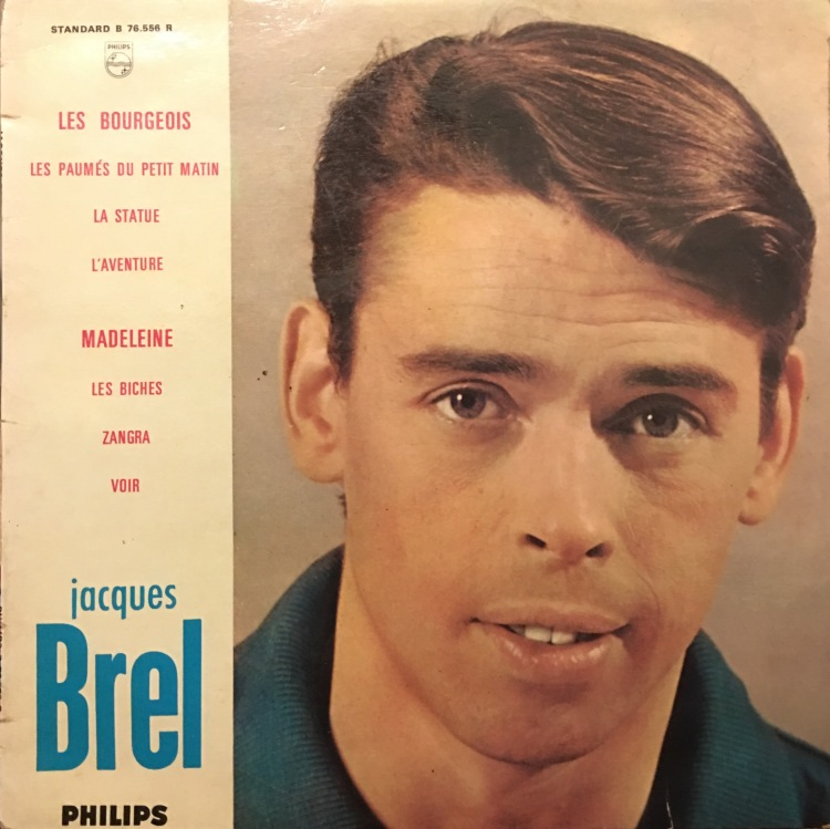 Jacques Brel Live at the Olympia 1961