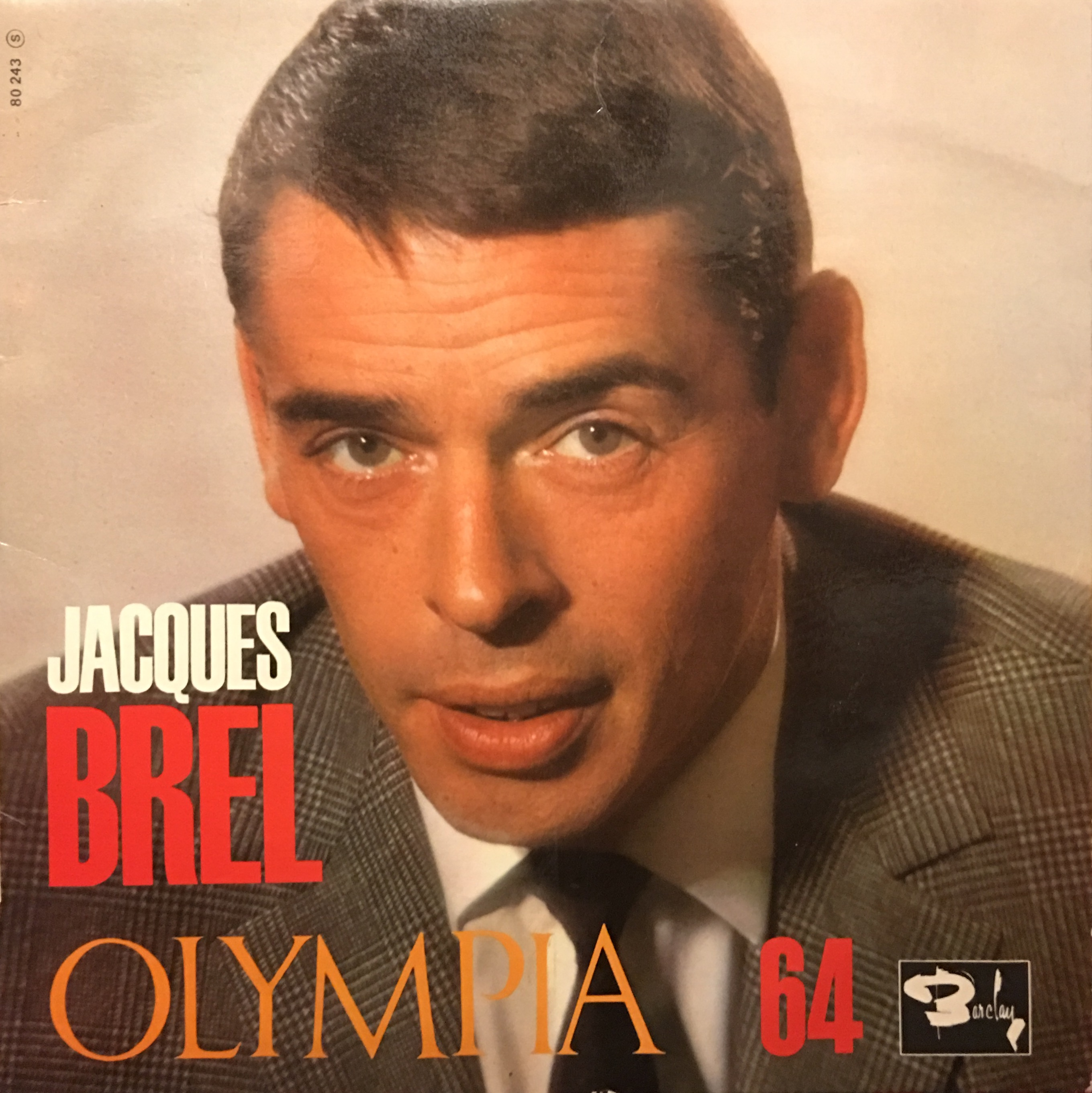 Jacques Brel, Olympia 1964
