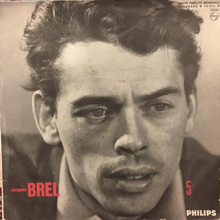Jacques Brel Vinyl Album (Marieke)