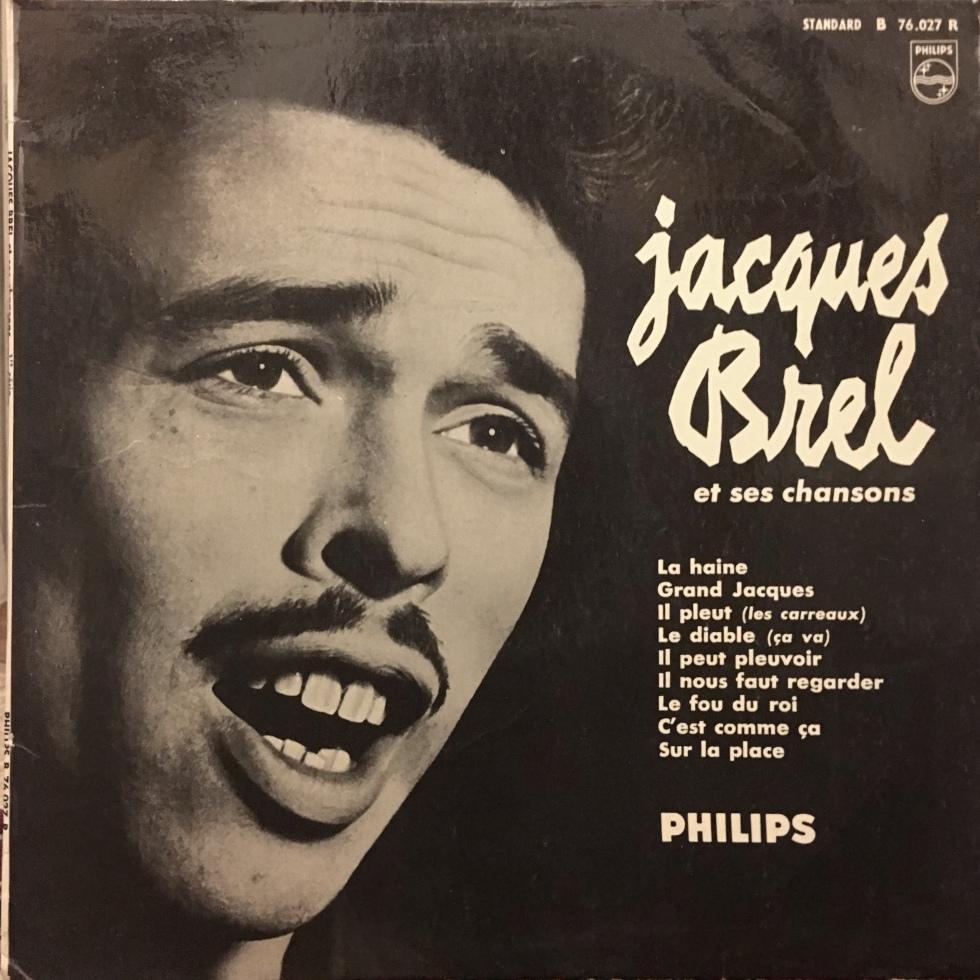 Jacques Brel Et Ses Chansons Vinyl Album